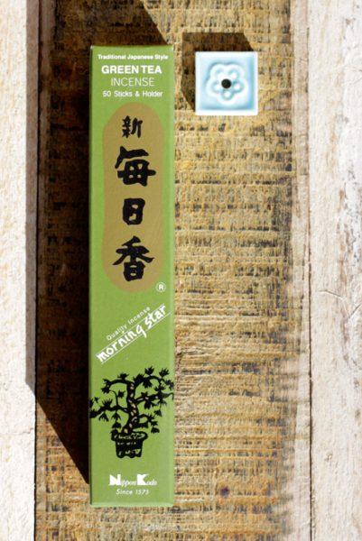 incense morning star green tea