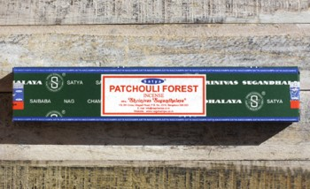 incense satya patchouli forest