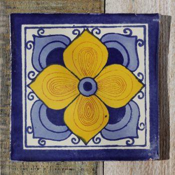 mexican tile flor arabe