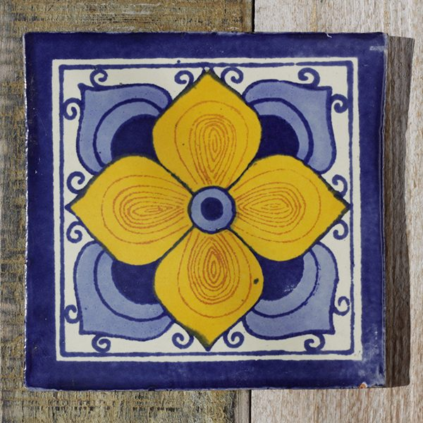 mexican tile flor arabe