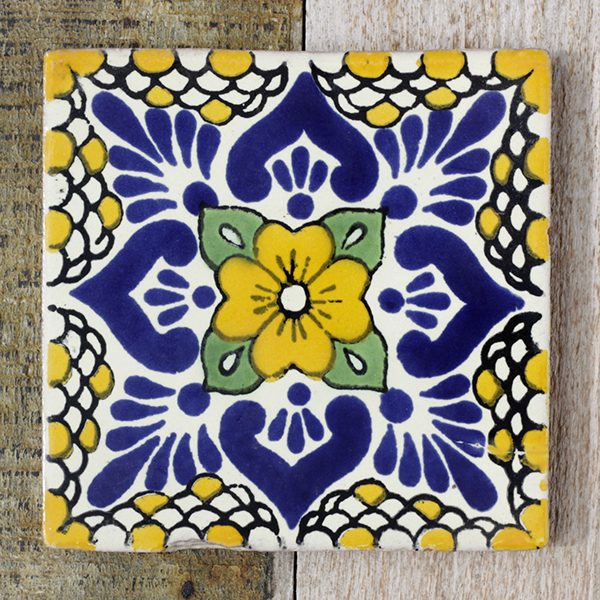 mexican tile hurican mostaza