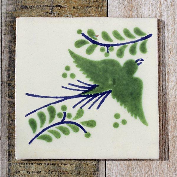 mexican tile paloma verde