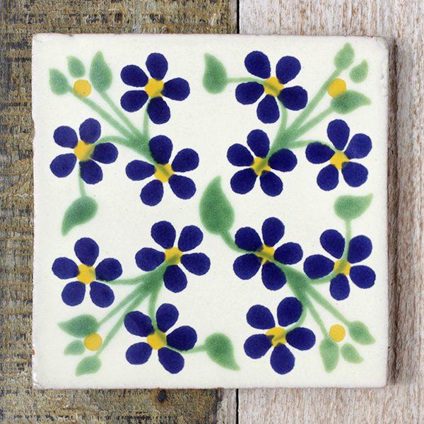 mexican tile violet
