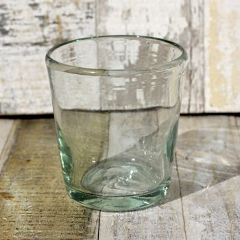 recycled glass tumbler conico