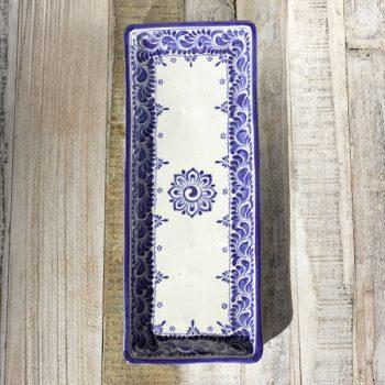 stoneware ceramic long dish