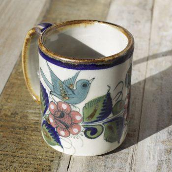 stoneware ceramic mug bird1