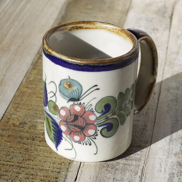 stoneware ceramic mug bird2