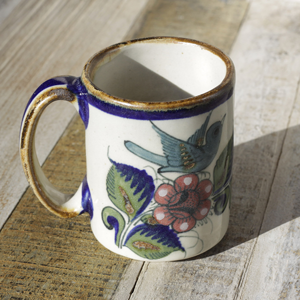 stoneware ceramic mug bird3