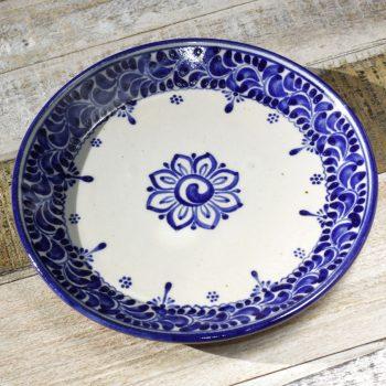 stoneware plate small