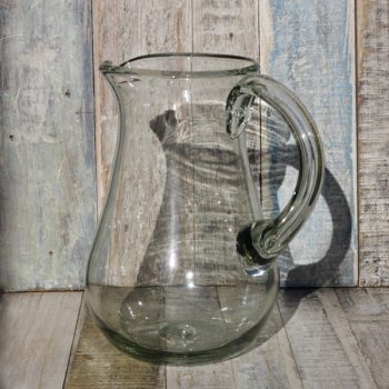 glass jug pear