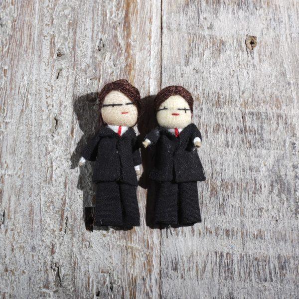 wed dolls grooms