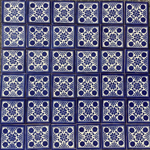 caoba damasko azul