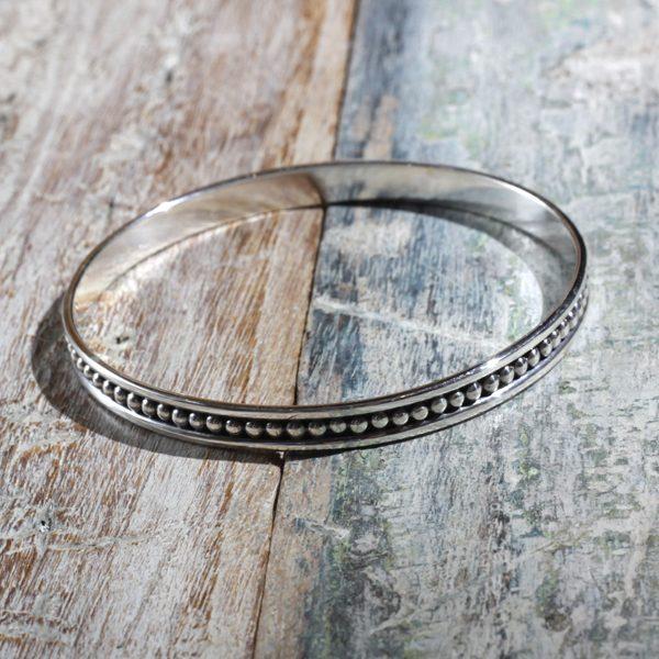 mexican silver bangle g1