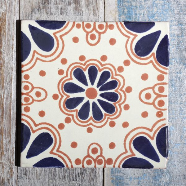 mexican tile dark lace