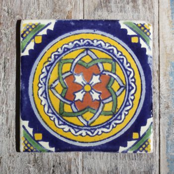 mexican tile vitral