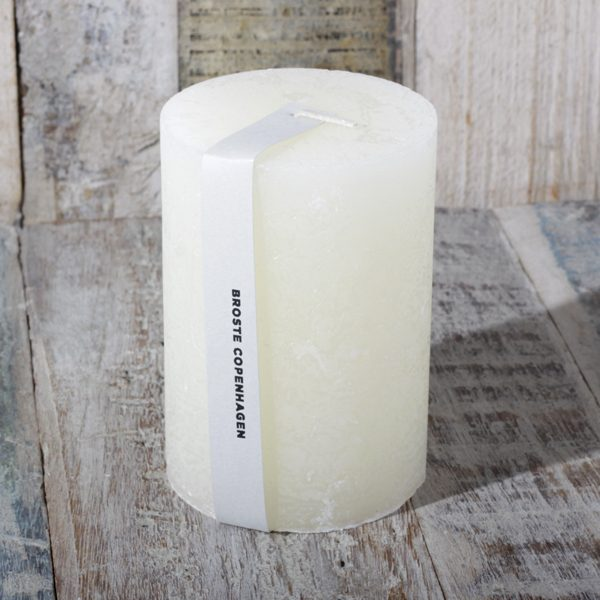 broste candle ivory