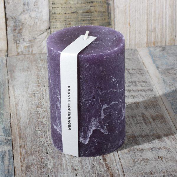 broste candle purple