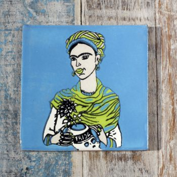 frida blue caoba