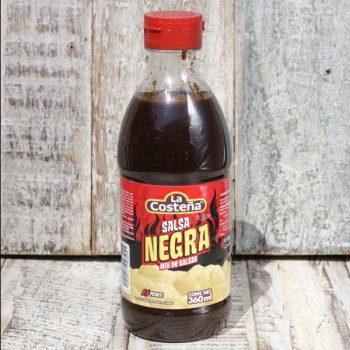 salsa negra caoba