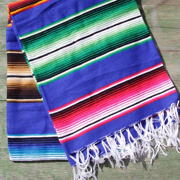 blanket blue caoba