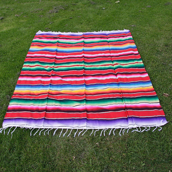 blanket red caoba1