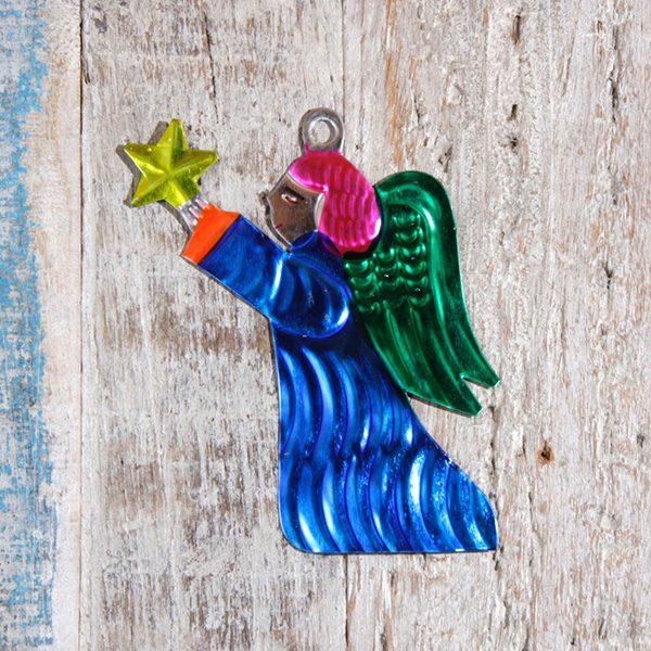 tin angel blue caoba