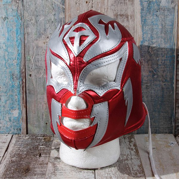 caoba mask sombre red