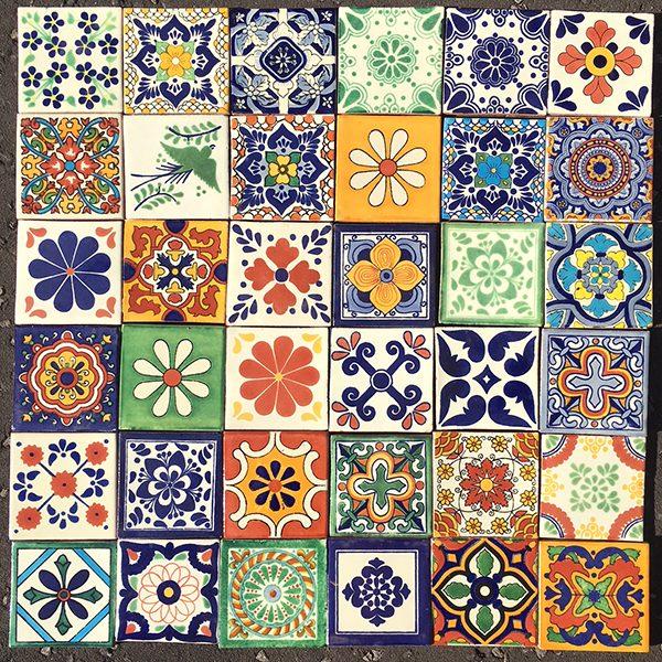 caoba patchwork CINCO