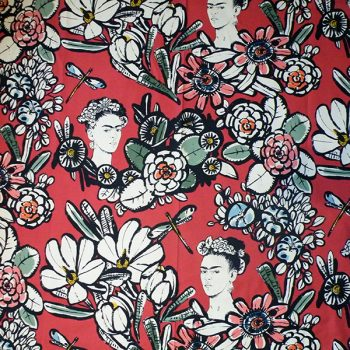 frida fabric CAOBA