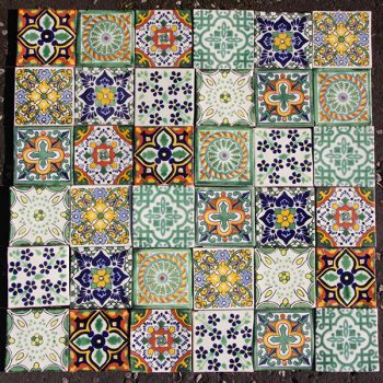 tile set NEW 1 caoba