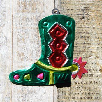 caoba tin boot green