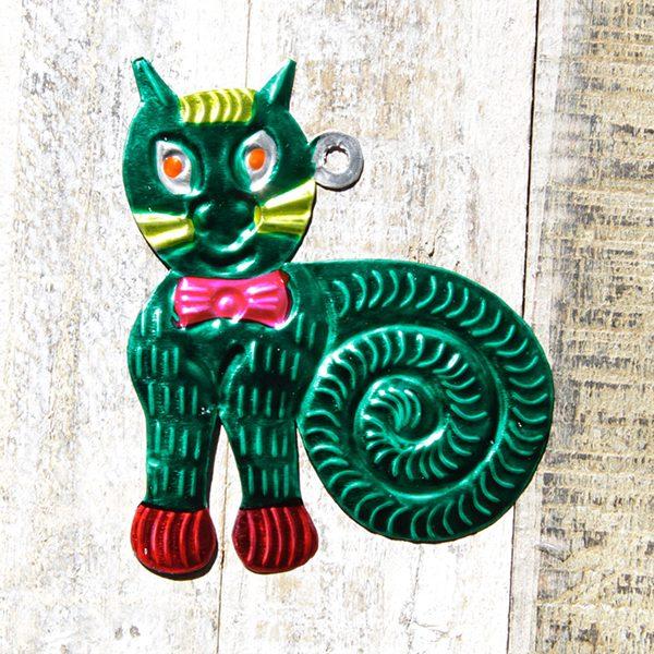 caoba tin cat green