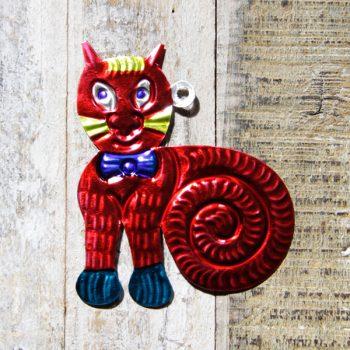caoba tin cat red