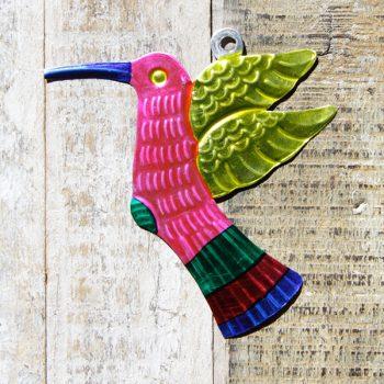 caoba tin humming bird pink