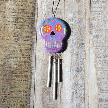 caoba skull chime purple