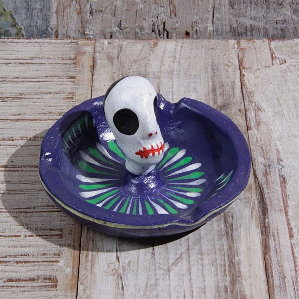 caoba ashtray purple