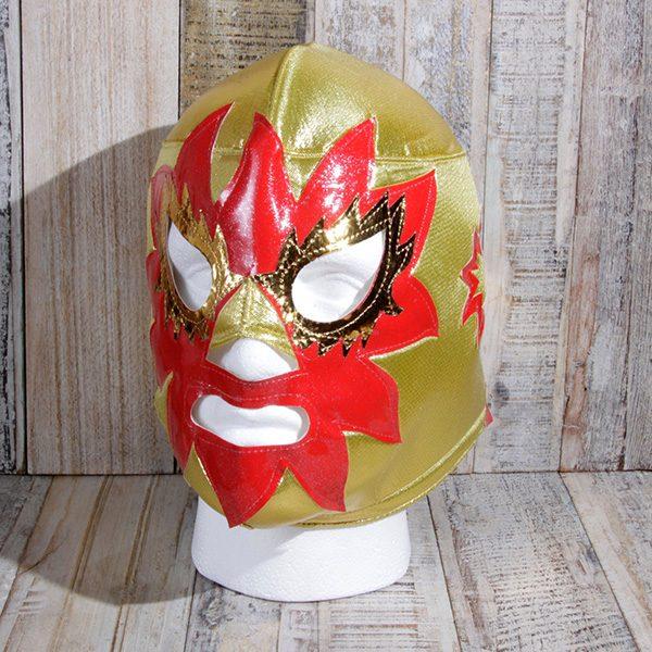 mask solar gold caoba
