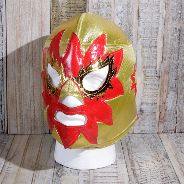 mask solar gold caoba