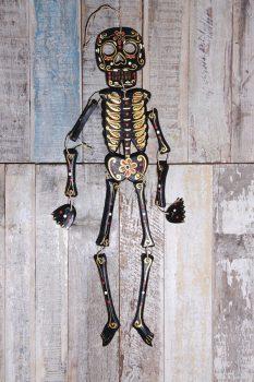 skeleton black