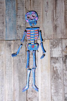 skeleton blue