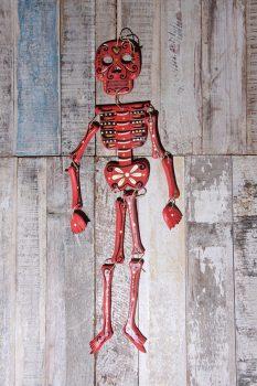 skeleton red