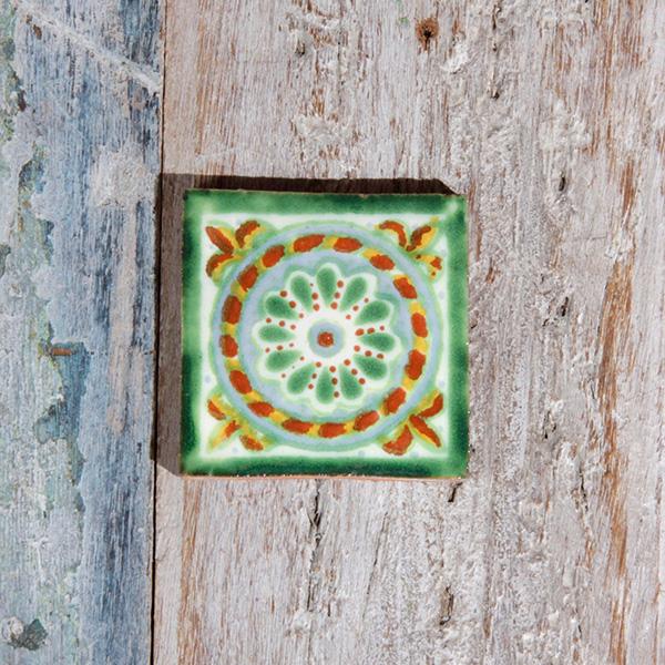 small tile cuerda verde