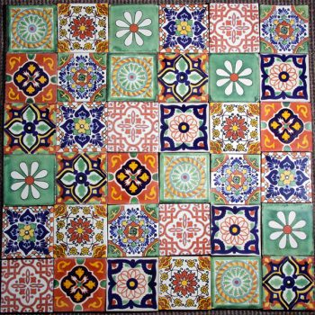 tile set 6 caoba