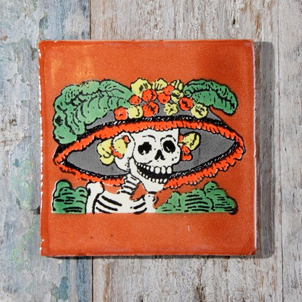 tile catrina brown caoba