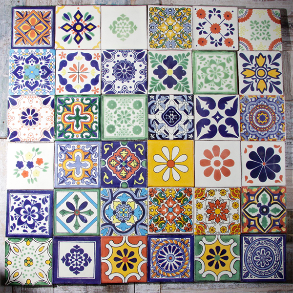 tile set caoba patchwork new