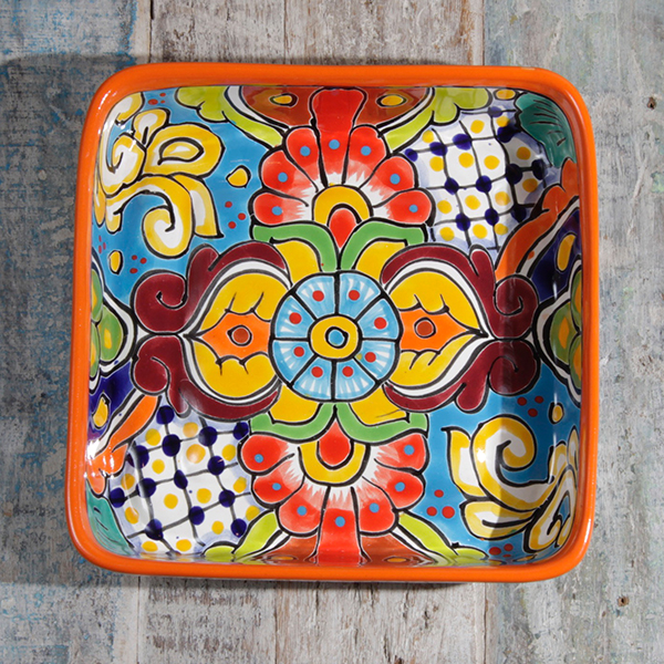 caoba square dish B