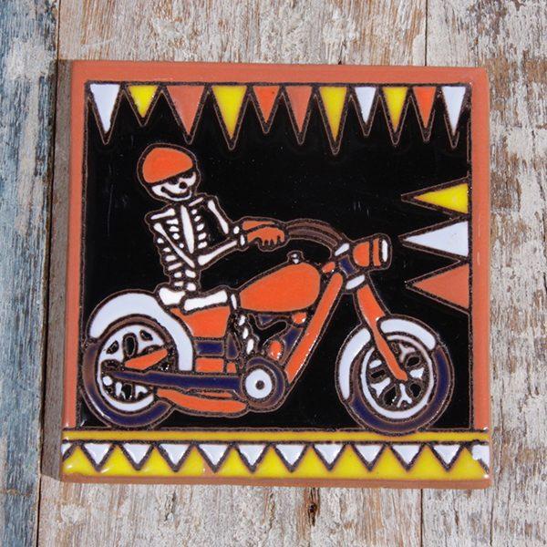 caoba relief tile bike