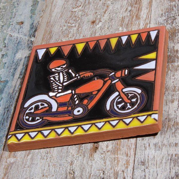 caoba relief tile bike a