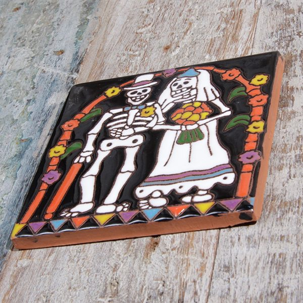 caoba relief tile wedding a