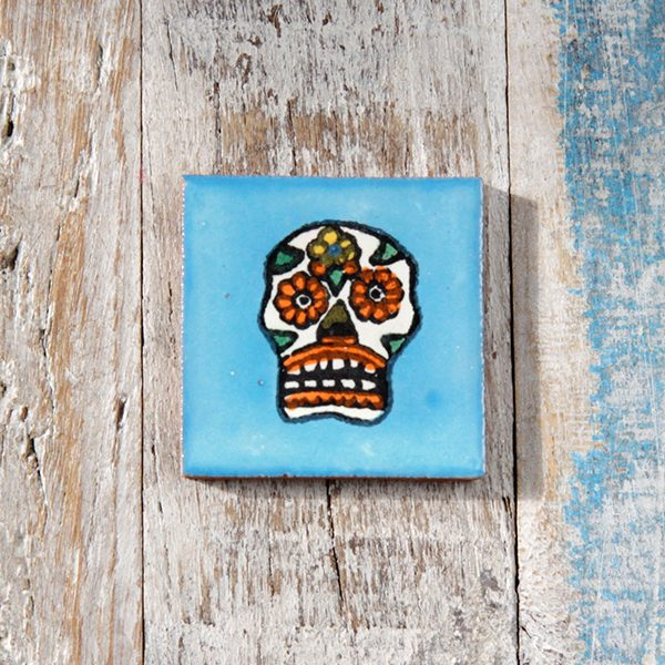 caoba tile small skull